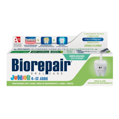 Zobu pasta Biorepair Junior 6-12g., 75ml