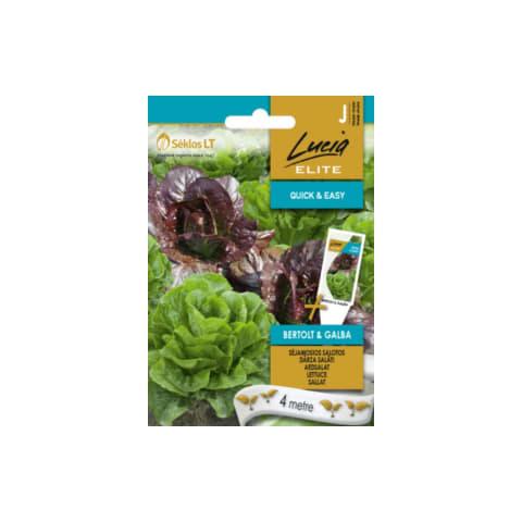 Dārza salāti Bertolt&Galba Lucia Elite