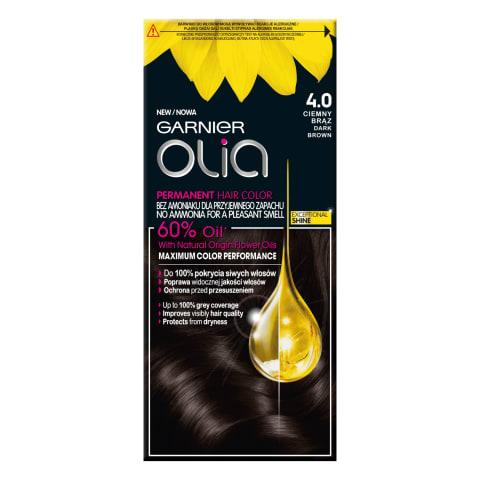 Matu krāsa Olia 4.0 Dark Brown