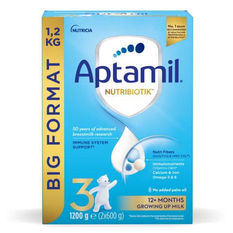 Piena formula Aptamil 3, no 1 gada 1,2kg