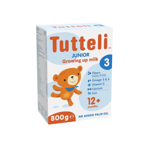 Piena formula Tutteli 3 no 1 gada 800g
