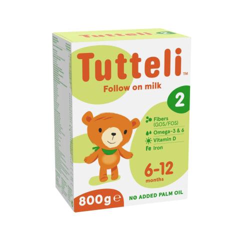Piena formula Tutteli 2 no 6mēn. 800g