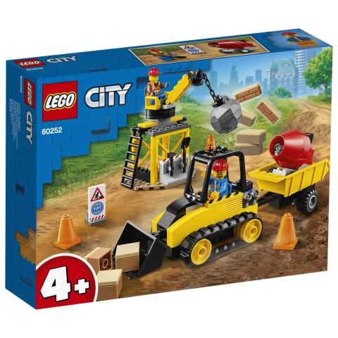 Statybų buldozeris LEGO CITY 60252