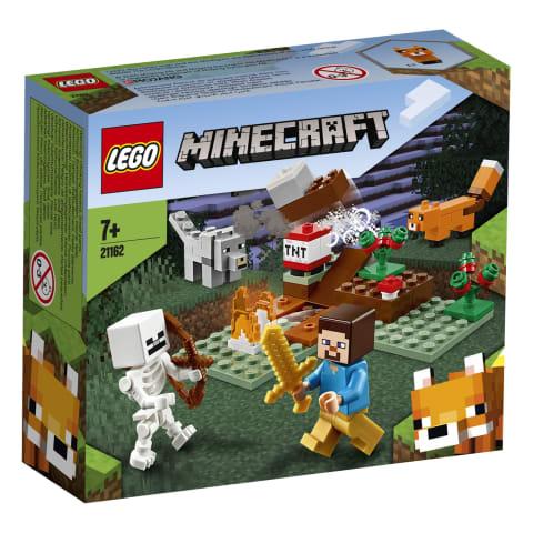 Nuotykis taigoje LEGO MINECRAFT 21162