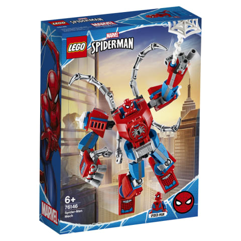 Mängukomplekt Spider-Mani robot Lego