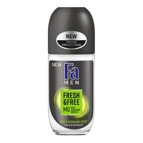 Rulldeodorant Fa Men Fresh&Free
