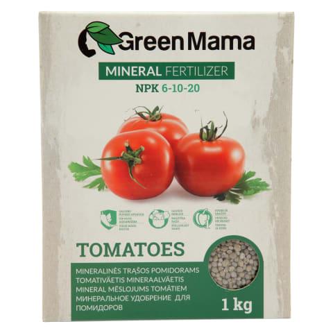 Minerālmēsli tomātiem Green mama 1kg