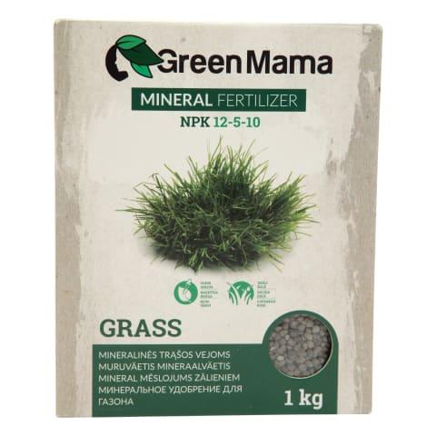 Minerālmēsli zālieniem Green mama 1kg