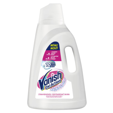 Traipu tīr. Vanish Oxi Action white 3l