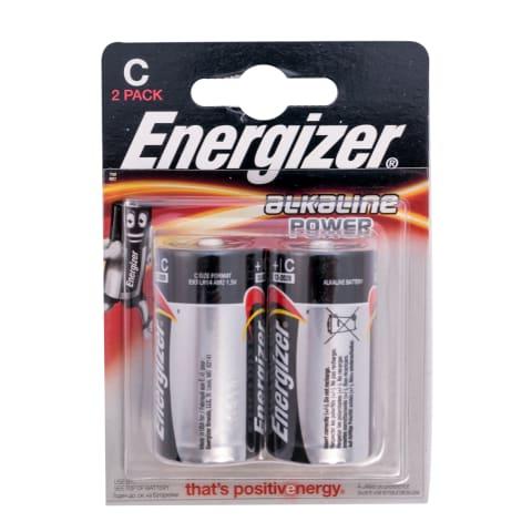 Baterijas Energizer Alkaline Power C x 2