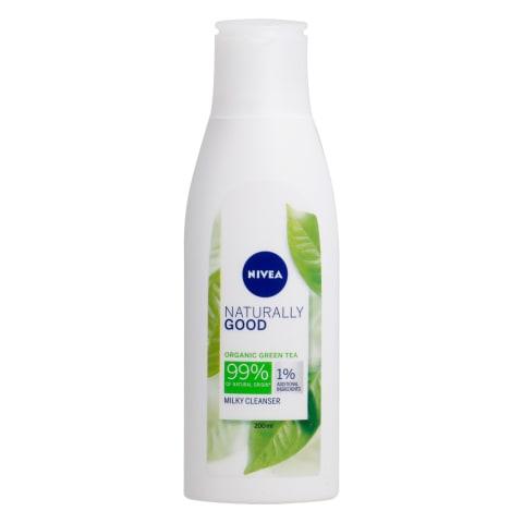 Attīrošs pienņš Nivea Naturally Good 200
