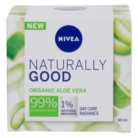 Dien. kr. su org. alij. NIVEA NATURALLY GOOD