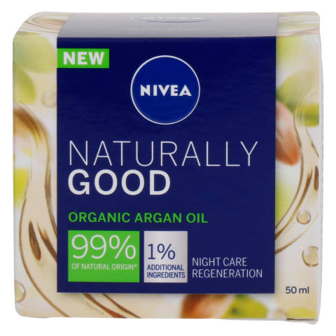 Nakt. kr. su org. alij. NIVEA NATURALLY GOOD