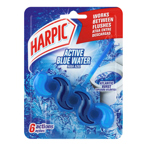 Tual.bloks Harpic Blue Power,Atlan, 1gab
