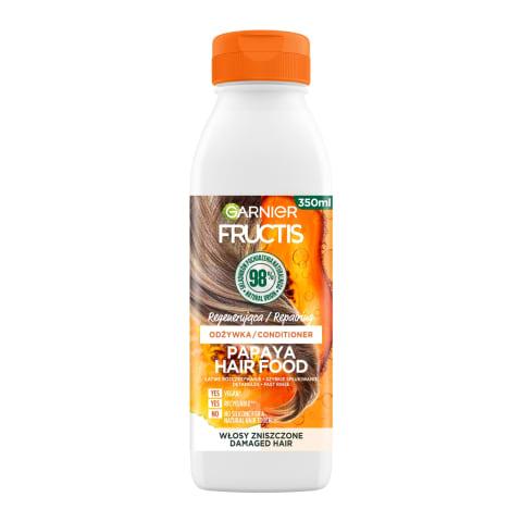 Balzāms Fructis Papaya Hair Food 350ml