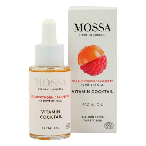 Eļļa sejai Mossa Vitamin Cocktail 30ml