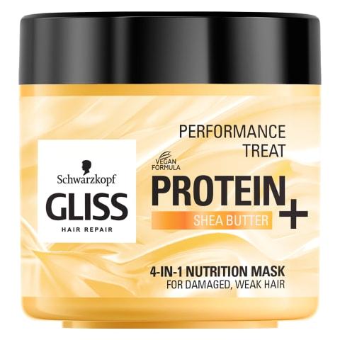 Matu maska Gliss 4in1 Treat Nutrition 400ml