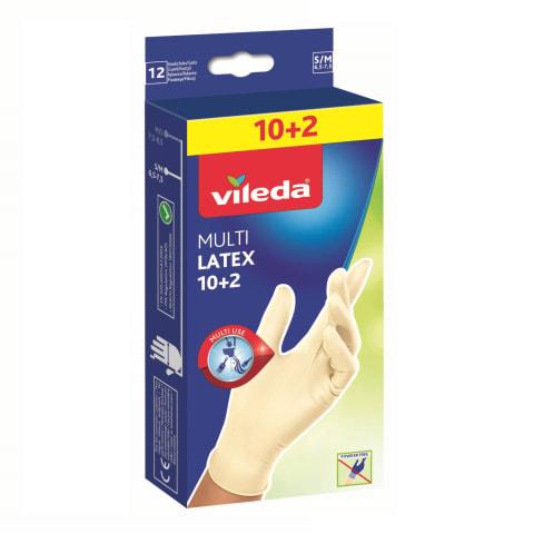 Cimdi Vileda multi s/m 12 gabali