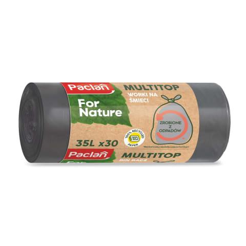Atkritumu maisi Paclan 35L/30gab