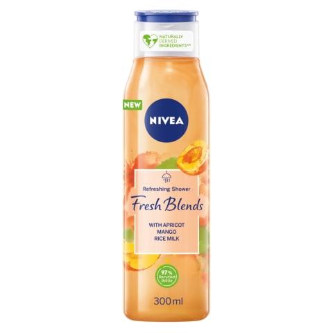 Dušo želė NIVEA su abrikosų ekstraktu, 300ml