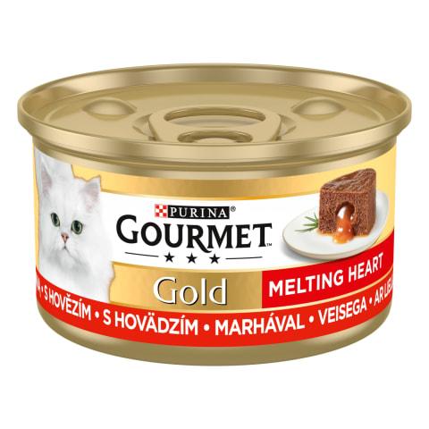 Konservai katėms GOURMET su jautien. 85g