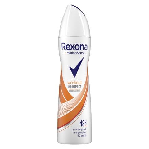 Dezodorants Rexona Workout Spray siev. 150ml