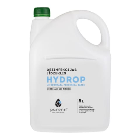 Vand. peroksido dezinf. pr. Purenn 5l