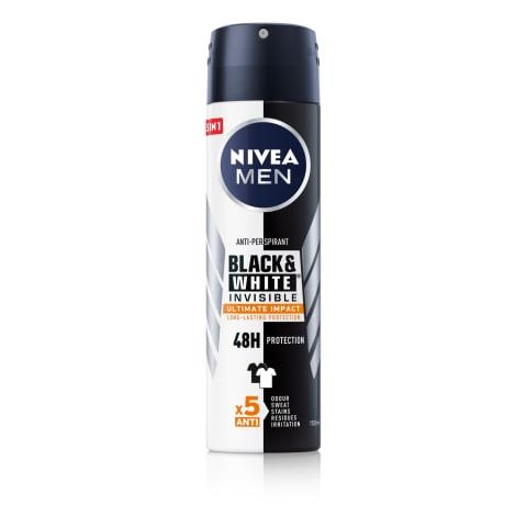 Dez. Nivea Black&Wh. Ultimate Imp. vīr. 150ml
