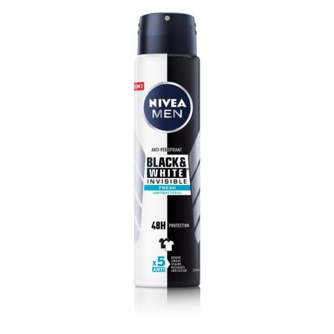 Dezodorants Nivea Black&White Fresh 150ml