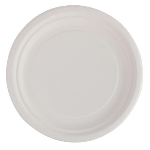 Papptaldrikud valged Rimi 18 cm 20 tk