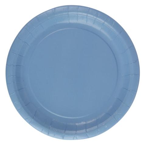 Papptaldrikud sinised Rimi 22 cm 10tk