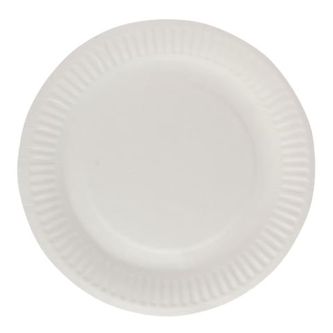 Papptaldrikud Rimi Basic 18cm, 20tk
