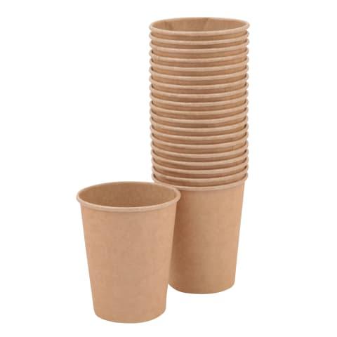 Popieriniai puodeliai RIMI 250 ml 20 vnt