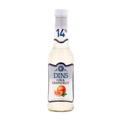 Alkohol. kokteilis Dins Grapefruit 14% 0,25l