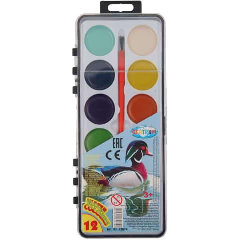 Akvareļu krāsas Centrum 12krāsas