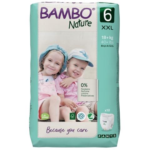 Sauskelnės BAMBO keln. 6 18+ kg,18 vnt