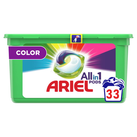 Veļas mazgāšanas kapsulas ArielColor 33g
