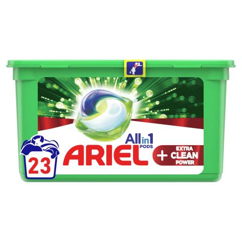 Kaps.ARIEL Extra Clean, 23 gab.