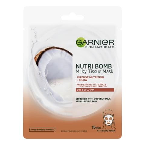 Maska Nutri Bomb ar kokosriekstu pienu 32g