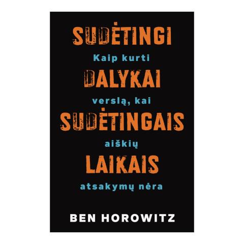 Knyga SUDĖTINGI DALYKAI - SUDĖTINGAIS LAIKAIS