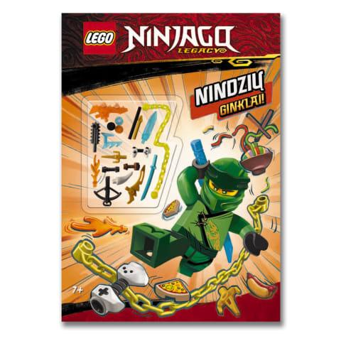 Knyga LEGO NINJAGO. NINDZIŲ GINKLAI!