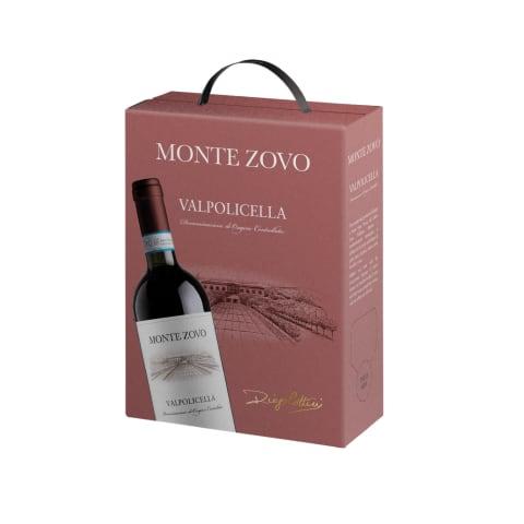 Sarkanvīns Monte Zovo Valpolicella 13% 3l