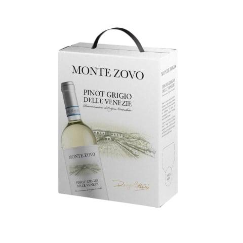 Bal.saus.vynas MONTE ZOVO PINOT GRIGIO,13%,3l