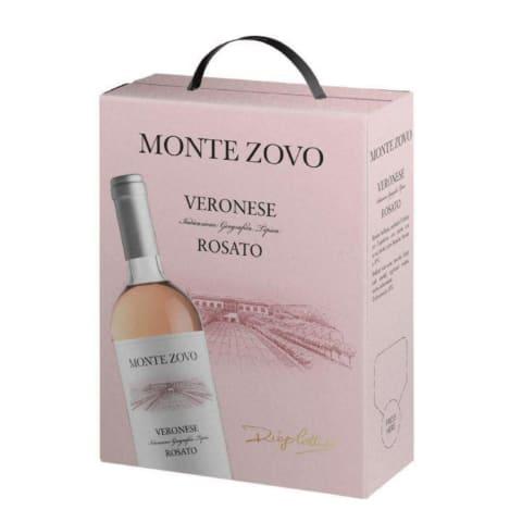 Rozā vīns Monte Zovo Rosata 12,5% 3l