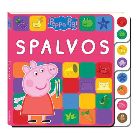 Knyga PEPPA PIG. SPALVOS