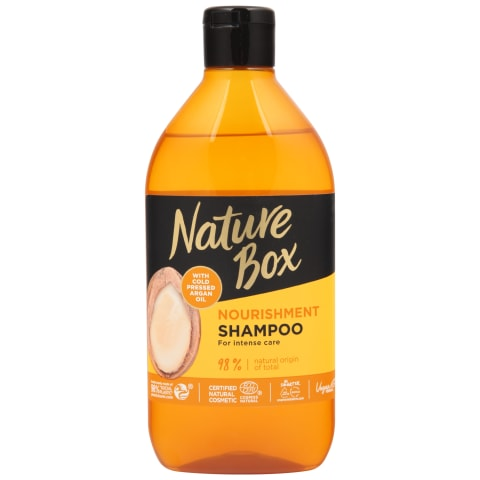Šampūns Nature Box ar argāna eļļu 385ml