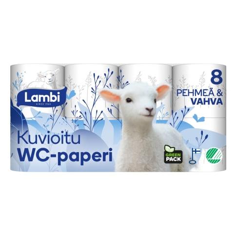 Tualetes papīrs Lambi Decor 8rl