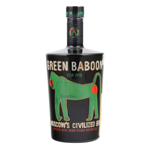 Džins Green Baboon 43% 0,7l