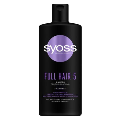 Šampūnas SYOSS Full Hair 440ml