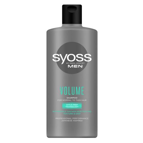 Šampūns Syoss Men Volume 440ml